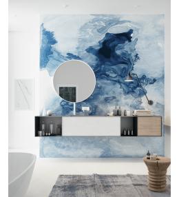 Bluew marble