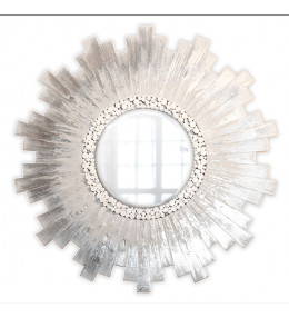 Интерьерное зеркало Snowflake 80х80