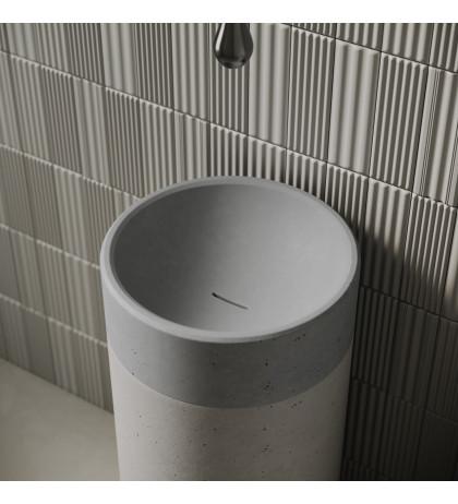 Напольная раковина с бетона Odri