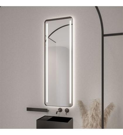 Прямоугольное зеркало с подсветкой ROUNDCORNER
