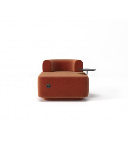 Модульное кресло Plump терракотовое