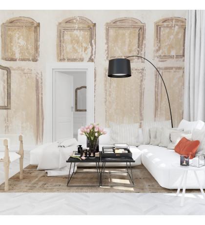 Нарисованные деревянные панели