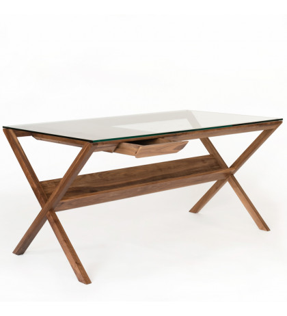 Стол письменный GLASS