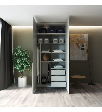 Модульный шкаф Simple VL 09