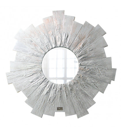 Интерьерное зеркало Snowflake 60х60