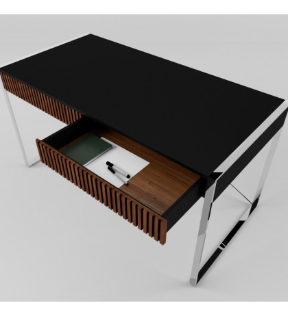 Письменный стол с хромом Arris